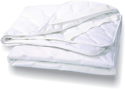 Tuktuk Fitted Twin Size Mattress Protector(White) at flipkart