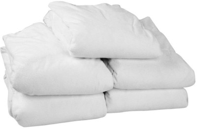 Just Hospitality Elastic Strap Queen Size Waterproof Mattress Protector(White) at flipkart