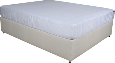 Springwel Fitted King Size Waterproof Mattress Protector(White) at flipkart