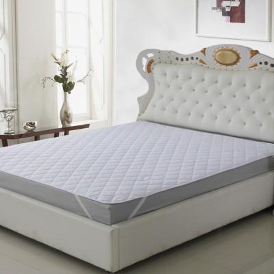 Home Originals Elastic Strap King Size Waterproof Mattress Protector(White)