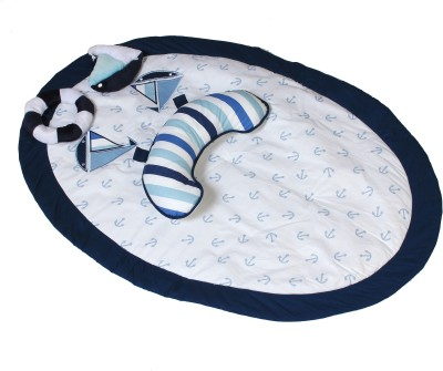 Bacati Little Sailor Print(Blue)