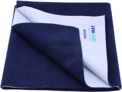 Newnik Cotton Sleeping Mat Cozymat Reusable Absorbent Sheets Absorbent Sheets / Under Pads(Blue, Large)
