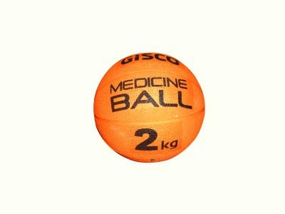 VSI SPORTS Medicine Ball(Weight:  2 Kg, Orange)