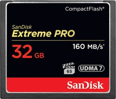SanDisk Pro 32 GB Compact Flash Class 10 160 MB/S  Memory Card at flipkart