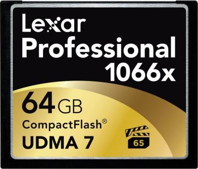 Lexar Professional 64   GB Compact Flash Class 10 160 MB/s Memory Card Lexar Memory Cards