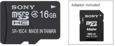 Sony-16GB-MicroSDHC-Class-4-Memory-Card-(With-Adapter)
