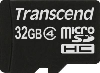 Transcend-32GB-MicroSDHC-Class-4-(4MB/s)-Memory-Card