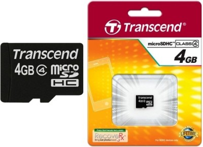 Transcend-4GB-MicroSDHC-Class-4-Memory-Card