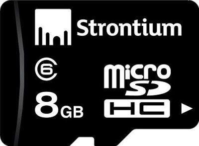 Strontium-8GB-MicroSDHC-Class-6-(6MB/s)-Memory-Card
