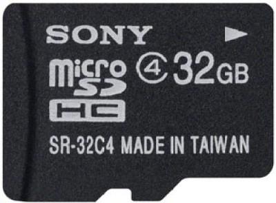 Sony-SR-32A4/T1-32GB-MicroSDHC-Class-4-Memory-Card