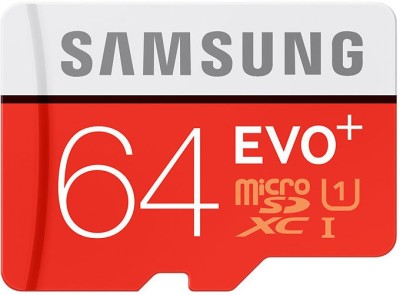 Samsung-EVO-Plus-MB-MC64DA-64GB-MicroSDXC-Class-10-(80MB/s)-Memory-Card-(With-Adapter)