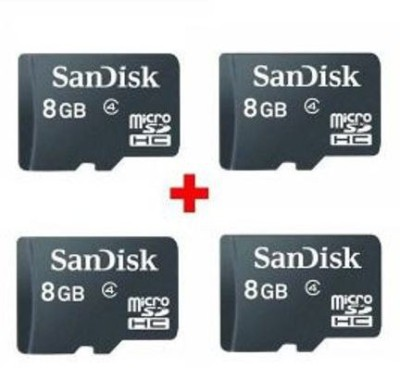 SanDisk Ultra 8 GB MicroSDHC Class 4 48 MB/s Memory Card