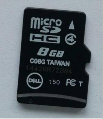 Dell-8GB-Class-4-MicroSDHC-Memory-Card