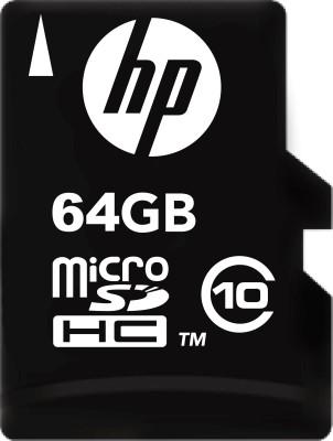 HP 64   GB MicroSDHC Class 10 90 MB/s Memory Card