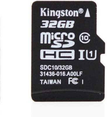 Kingston-32GB-MicroSDHC-Class-10-(80MB/s)-Memory-Card-(With-Adapter)