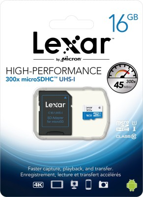 Lexar-300x-16GB-MicroSDHC-Class-10-Memory-Card-(With-Adapter)
