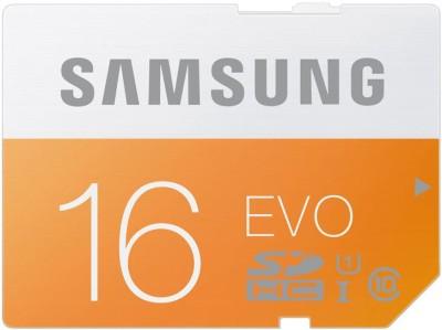 Samsung EVO 16 GB SD Card Class 10 48 MB/s  Memory Card
