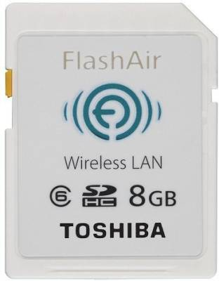 Toshiba-FlashAir-8GB-Class-6-SDHC-Wireless-Memory-Card