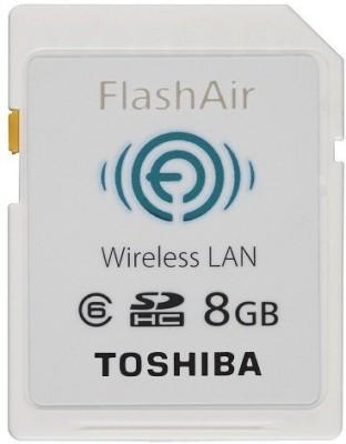 Toshiba 8  GB SD Card Class 6 Memory Card Toshiba Memory Cards