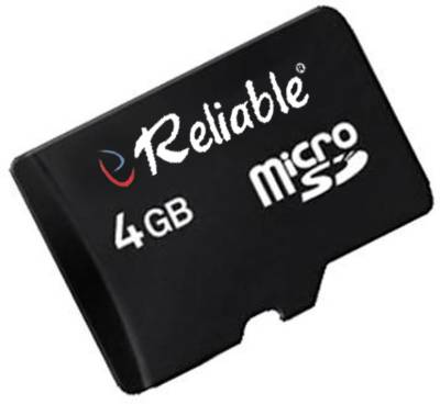 Reliable-4GB-MicroSDHC-Class-4-(4MB/s)-Memory-Card
