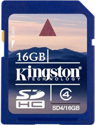 Kingston-16GB-SDHC-Class-4-20MB/s-Memory-Card