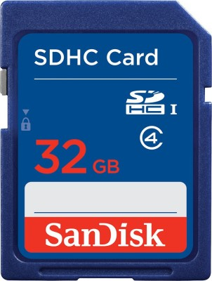SanDisk 32GB SDHC Class 4 Memory Card