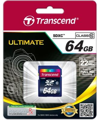 Transcend-64GB-Class-10-SD-XC-Memory-Card