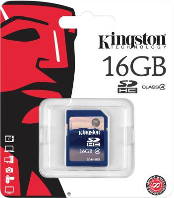 Kingston-16GB-(Class-4)-SDHC-Memory-Card