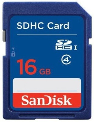 SanDisk SDHC 16 GB SDHC Class 4 15 MB/s Memory Card 1