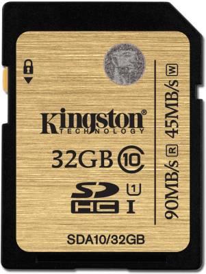 Kingston-SDA10/32GB-32GB-SDHC-Class-10-UHS-I-Memory-Card