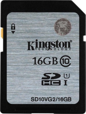 Kingston-SD10VG2/16GBFR-16GB-SDHC-UHS-I-80MB/s-Class10-Memory-Card