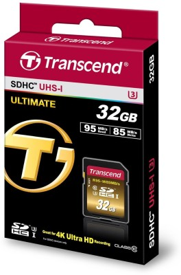 Transcend Ultimate 32 GB SDHC Class 10 95 MB/s  Memory Card