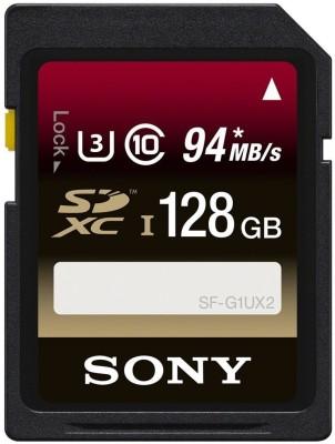 Sony 128 GB SDXC Class 10  Memory Card
