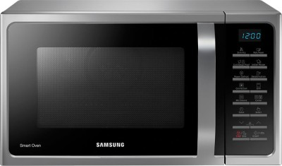 Samsung 28 L Convection Microwave Oven(MC28H5025VS, Silver)