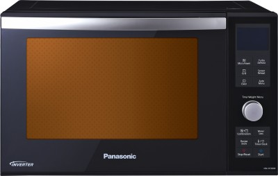 Panasonic 23 L Convection Microwave Oven(NN-DF383B, Mirror Finish)