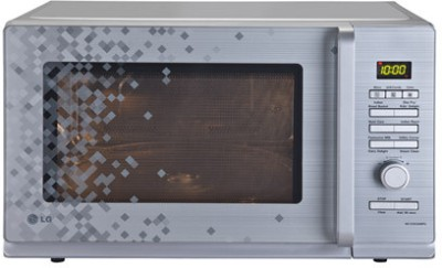 LG 32 L Convection Microwave Oven(MC3283AMPG, Silver Pixel)