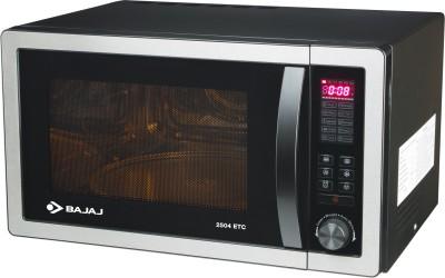 Bajaj 25 L Convection Microwave Oven(2504ETC, Silver Grey)