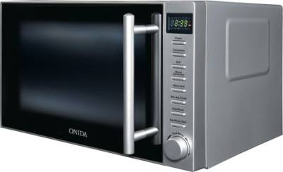 Onida MO20CJP27B 20 L Convection Microwave Oven (Black and Silver)