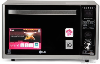 LG 32 L Convection Microwave Oven(MJ3283BCG, Silver)  available at flipkart for Rs.28650
