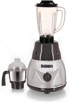 Rotomix Roto ABS Plastic Blk MrfMe 600 W Juicer Mixer Grinder(Multicolor, 2 Jars)