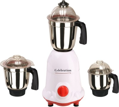 Celebration MG16-5 3 Jars 600W Mixer Grinder