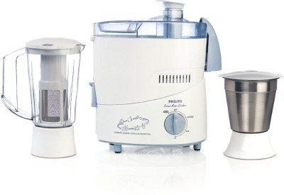 Philips HL1631 500 W Juicer Mixer Grinder(Blue, 2 Jars)  available at flipkart for Rs.2699