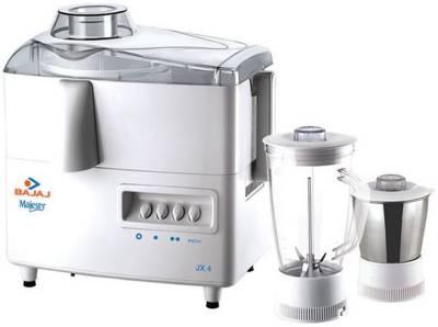 Bajaj JX 4 2 Jars 450 Watts Juicer Mixer Grinder Image