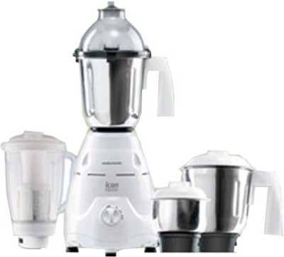 Morphy Richards Icon Supreme - 750 W Icon Supreme 750 W Mixer Grinder(White, 4 Jars)