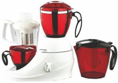 Butterfly JX 3 Desire 3Jars MG 750 W Mixer Grinder(Red, 3 Jars)