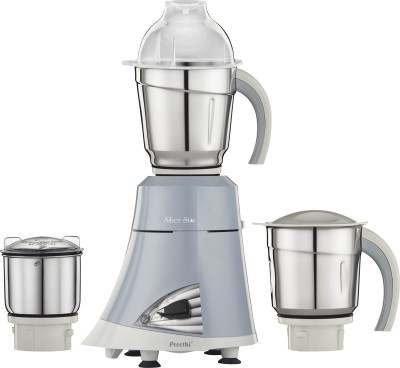 Preethi-Silver-Star-MG-215-750W-Mixer-Grinder-(3-Jars)