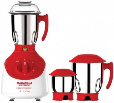 Maharaja-Whiteline-Easylock-Queen-750W-Mixer-Grinder-(3-Jars)