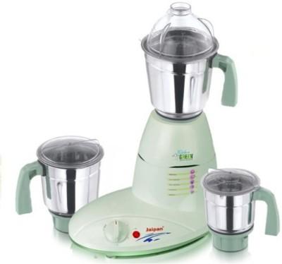 Jaipan JKGm Kitchen Green 750 W Juicer Mixer Grinder(White, 3 Jars)