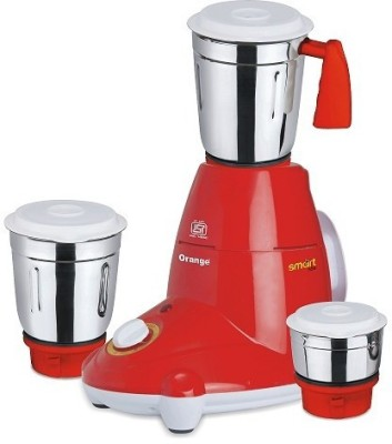 Orange-Neo-Smart-550W-Mixer-Grinder