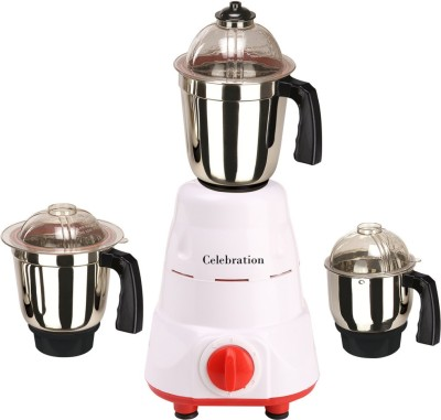 Celebration C MG16 113 1000 W Mixer Grinder(Red, 3 Jars)